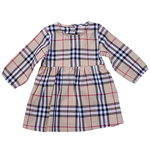 No Branded Toddler Baby Girls Check Casual Outfit Dress