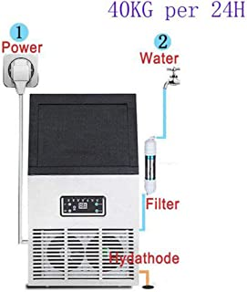 Commercial or home use countertop bullet ice maker Electric Ice cube maker portable ice making machine 110v/220v,waterpipetype,UK