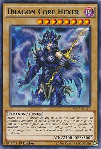 yu-gi-oh Dragon Core Hexer - MP17-EN127 - Rare - 1st Edition - 2017 Mega-Tin Mega Pack (1st Edition)
