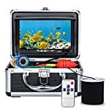 Underwater Fishing Camera, Anysun Portable Fish Finder Camera with 7'' Color LCD Monitor HD1080P Waterproof IP68 Underwater Viewing System with 30m/100ft Cable for Ice Lake Boat Sea Fishing(NO DVR)