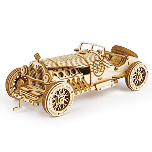Rokr 3D Wooden Puzzles For S Mechanical Models Kits To Build Heavy Truck