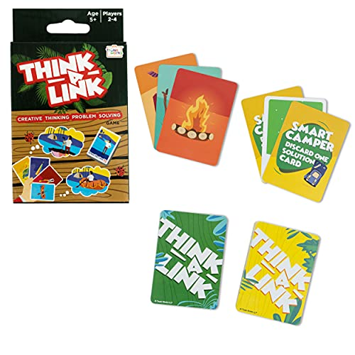 Trunk Works Think A Link Creative and Out of The Box Thinking Problem Solving Travel Card Game