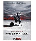 LGXINGLIyidian American TV Moive Poster Westworld Season 3 Bald Eagle Buzzards Buitre Lienzo Pintura Arte De La Pared Decoracin para El Hogar Bn273 50X70Cm