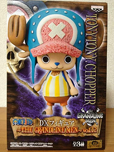 ONE PIECE - DX Figure The Grandline Men vol.12 [Tony Tony Chopper] [Toy] (japan import)