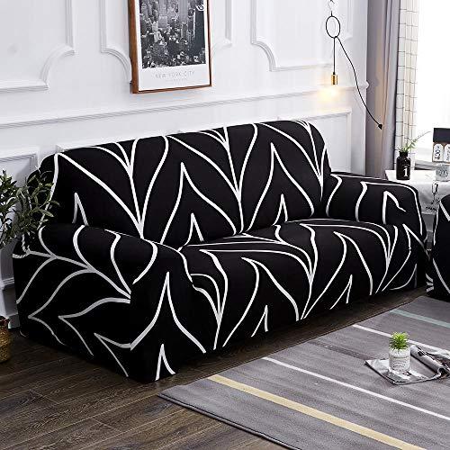 HXTSWGS Fundas para Sofa de 1,2,3 Plazas,Funda de sofá de Sala de Estar de 1/2/3/4 Asiento, Funda de Asiento de sofá Flexible, Funda de Asiento de Muebles extraíble y lavable-Color10_145-185cm_