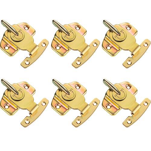 Fltaheroo - Juego de 6 cerraduras de mesa de entrenamiento para comedor con hebillas para accesorios de hardware
