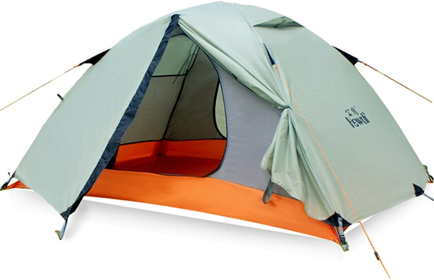 Outdoor double double aluminum pole tent Multiplayer Equipment Beach camping Kit and equipped  camp camp