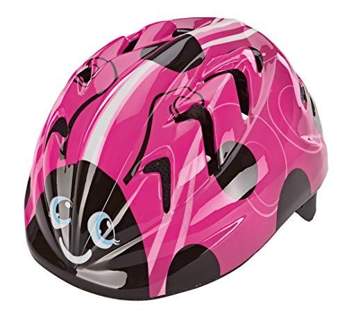 Prophete Unisex Jugend Kleinkinder-Fahrradhelm, Größe: 44-48 cm, pink, TÜV/GS Zertifiziert Kinder