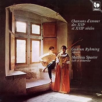 Chansons d'amour des XVIe et XVIIe siècles