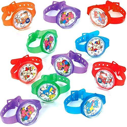 German Trendseller - 12 x Armbanduhr Mitgebsel - Kinder Mix ┃ Geduldspiel┃ Kindergeburtstags Mix ┃ 12 Stück