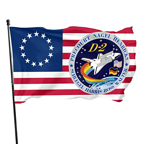 anemone store Amerikanische Fly Breeze 3 x 5 Fuß Flagge - STS-55 Mission Patch