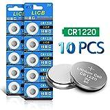 LiCB 10 Pack CR1220 3V Lithium Battery CR 1220