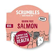 Scrumbles All Natural Wet Cat Food with 70% Meat, Salmon Flavour, Grain Free Food for Adult Cats, Mu...