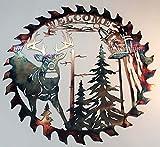 Cut Hand Saw Metal Art, Plasma Cut Metal Art, Metal Art Tree Wall Decor, Vintage Handsaw Blade Design Metal Wall Art (O)