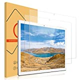 ROVLAK Cristal Templado para Teclast M30 Protector de Pantalla de Vidrio Templado [2-Pack] HD Clear Anti-rasguños Anti-Huella Digital Tempered Glass Film for Teclast M30