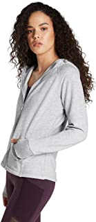 Rockwear Activewear Women's Funnel Neck Panneled Fleece Light Grey Marle 14 from Size 4-18 Jackets + Vests for Tops