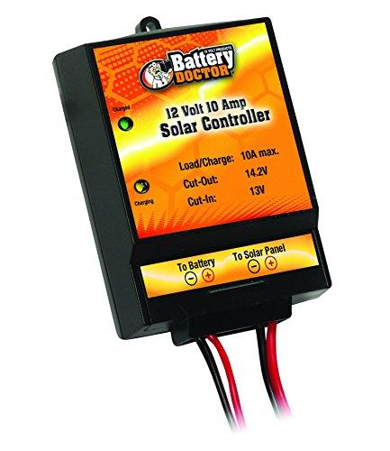 WirthCo 23122 Battery Doctor 12V 10 Amp Solar Regulator