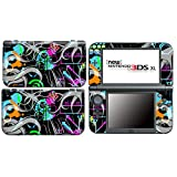 ABSTRACT for New Nintendo 3DS XL Skin Vinyl Decal Stickers