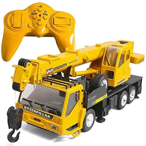 Bck 1:24 Control remoto Crane Sound And Light Simulation Toys Toys Toys Modelo Modelo de ingeniería de simulación de ocho canales para el regalo de cumpleaños para niños