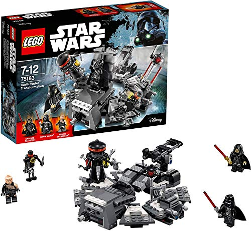 LEGO Star Wars 75183 Darth Vader Transformation, Kinderspielzeug