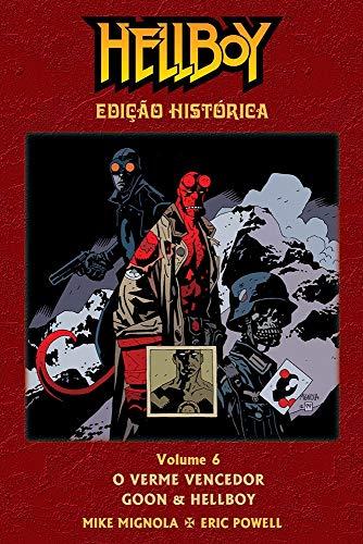Hellboy - O Verme Vencedor, Goon & Hellboy - Edição Histórica- Volume 06