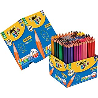 BIC Kids Evolution ECOlutions Colouring Pencils - Assorted Colours, Classpack of 288 Coloured Pencils Set (B00QTLTIS4)   Amazon price tracker / tracking, Amazon price history charts, Amazon price watches, Amazon price drop alerts