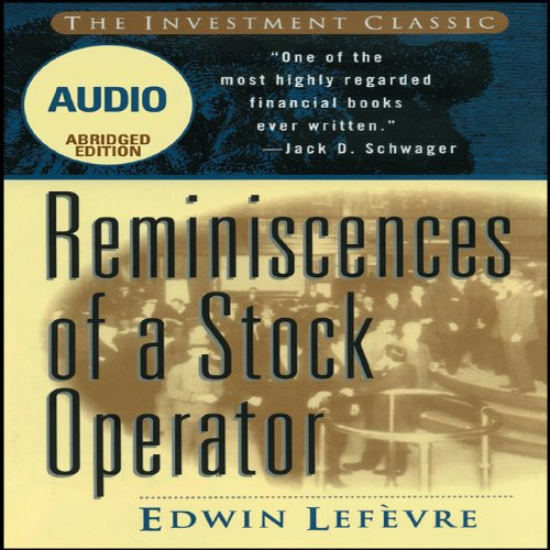 Couverture de Reminiscences of a Stock Operator (Wiley Trading Audio)