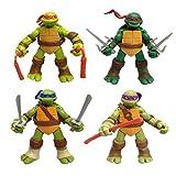 QAZ Modelo De Personaje Animado De Teenage Mutant Ninja Turtles Q Edition 4 Figura Modelo De...