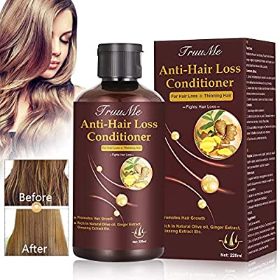 Hair Regrowth Conditioner, Hair Treatment Mask, Hair Thickening Conditioner, Hair Mask for Hair Growth, Hair Loss Conditioner, Natural Fine Hair Volumizing Deep Treatment