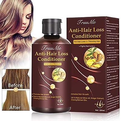 Hair Regrowth Conditioner, Hair Treatment Mask, Hair Thickening Conditioner, Hair Mask for Hair Growth, Hair Loss Conditioner, Natural Fine Hair Volumizing Deep Treatment