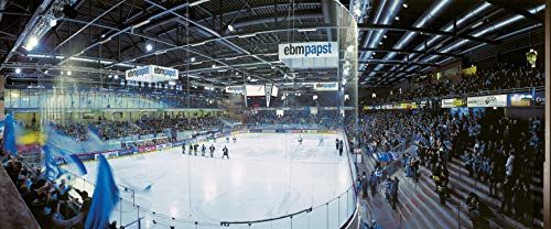 Schwenningen Eishockey Panorama – Poster 240 x 100 cm – hochwertiger FineArtPrint