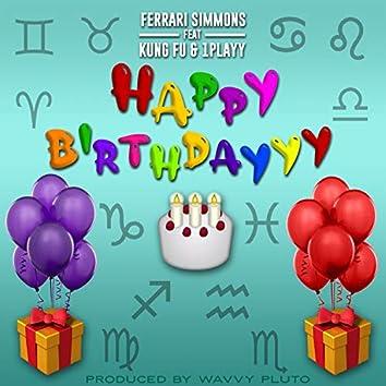 Happy Birthdayyy