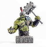 Semic Studios - Busto en Resina Hulk, 24 cm