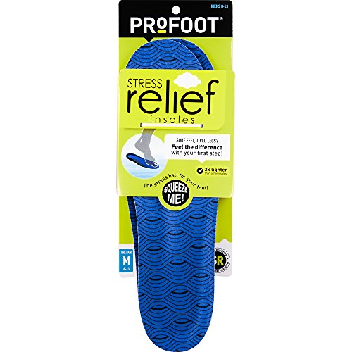 ProFoot Stress Relief Insole, Men's 8-13, 1 Pair