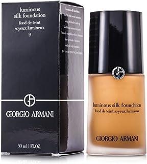 ジョルジオアルマーニ ルミナスシルクファンデーション - # 9 ナチュラルスウェード 30ml/1oz並行輸入品