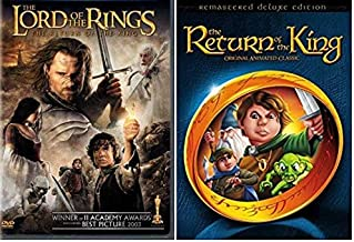 The Lord of the Rings 3-Disc DVD Collection - The Return of the Rings Movie / The return of the Kings Original Animated Classics