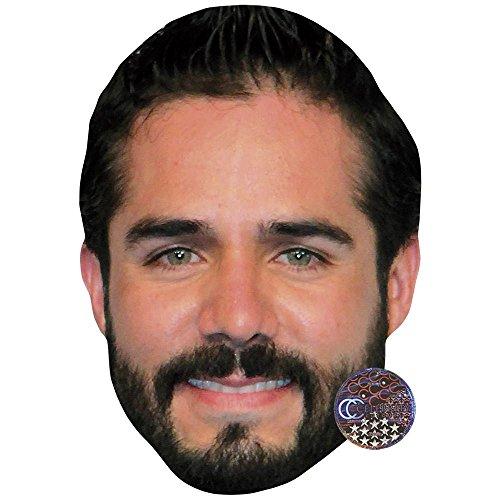 Celebrity Cutouts Jos� Ron Maske aus Karton