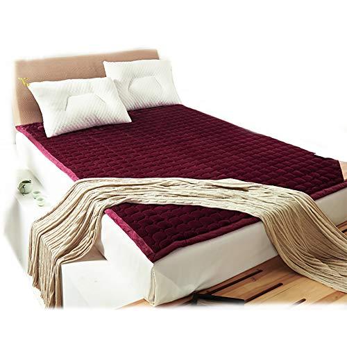 WYBF Tatami Materasso Letto futon Molto Spesso Materasso Tradizionale Japanese Folding Tatami Materasso Futon in Cotone Naturale 4 Strati Trapuntato Student Dormitory per o per Il Campeggio