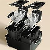 Zoom IMG-2 aigostar feast friggitrice doppia vasca