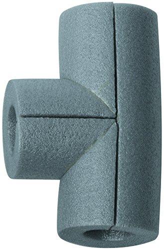 Climapor Raccord en T pour gaine d'isolation PE 15/13, gris - PRIX SPECIAL LOT de 5 pièces
