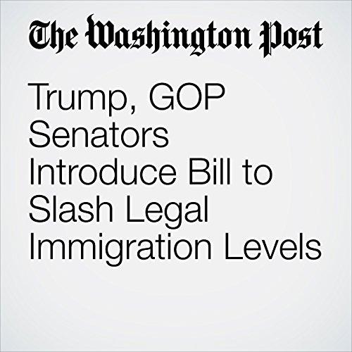 Trump, GOP Senators Introduce Bill to Slash Legal Immigration Levels copertina