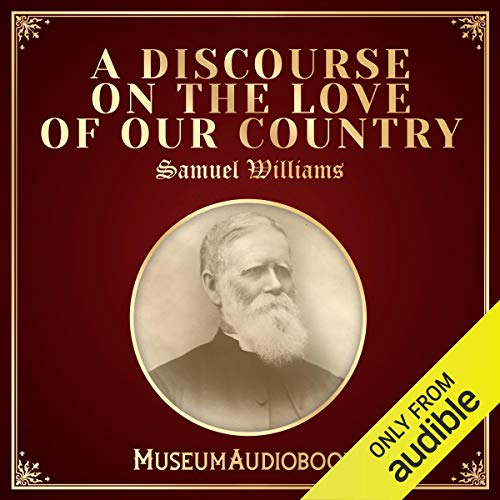 A Discourse on the Love of Our Country cover art