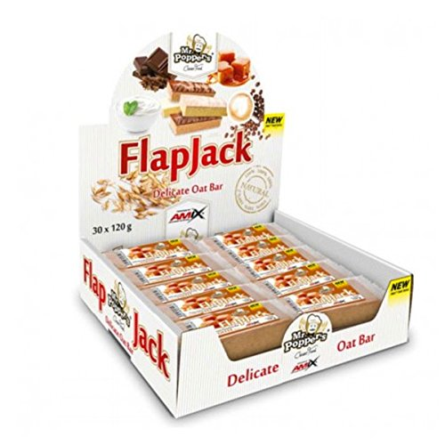 Amix Flap Jack Oat Bar 30*120Gr Doble-Chocolate 180 g
