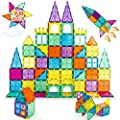Neoformers Magnetic Building Tiles, 70 Pcs 3D Magnetic Building Blocks Set for Kids, STEM Educational Preschool Magnet Toys for Toddlers Boys Girls 3 4 5 6 7 8 Year Old