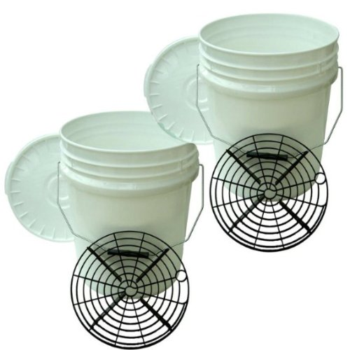 Monza Swirl Free Paint Professional Car Wash Twin Bucket Kit
