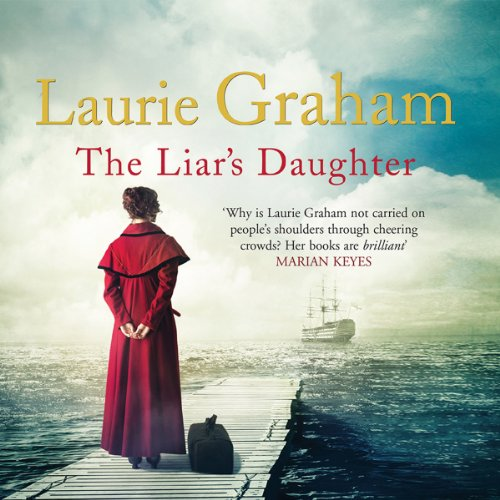 The Liar's Daughter audiobook cover art