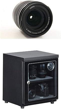 パナソニック 標準ズームレンズ マイクロフォーサーズ用 ルミックス G VARIO 12-60mm/F3.5-5.6 ASPH./POWER O.I.S H-FS12060 + HAKUBA 電子防湿庫 E-ドライボックス 40リットル KED-40セット