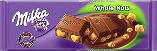 Pack of 4 Milka Whole Hazelnuts Chocolate, 3.5oz each