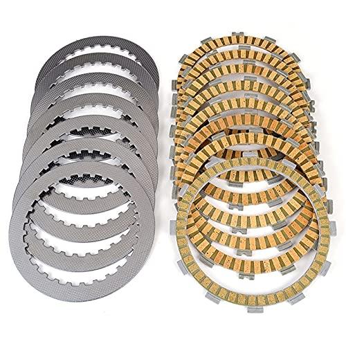 VIKOMN Placas de Disco de fricción de Embrague Aptos para TRX700 TRX 700 XX8 XX9 XXB 2009 2010 2011 22201 HP1670 MEB670 22321-GHB811