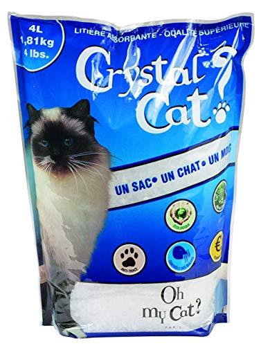 LITIERE Crystal Cat Cristaux 4L